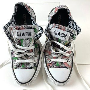 Converse All Stars Comic Strip Sneakers Women's 6